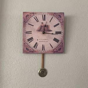 Timeworks English Mill Wall Clock with Pendulum